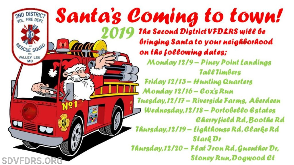 Second District Vol Fire Department and Rescue Squad