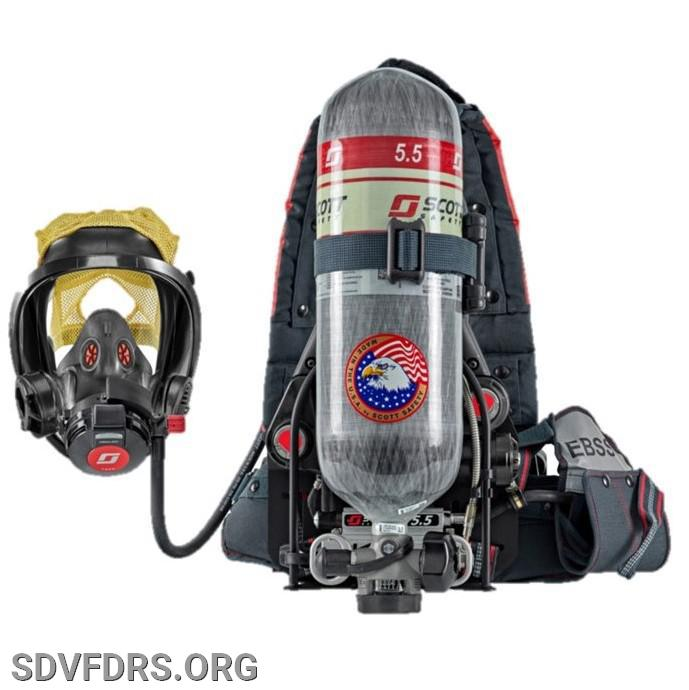 Scott Air Pak X3 Pro Self Contained Breathing Apparatus